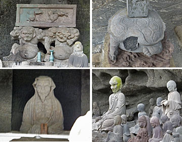 石像からもいろいろ想像します
