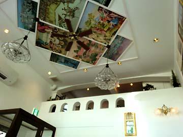 天井がキレイ