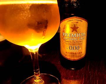 サッポロのノンアルコールビールです。