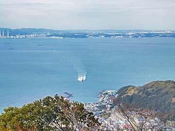 富士山は見えませんでした