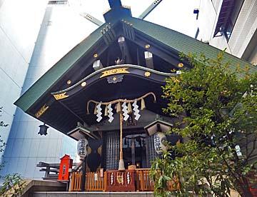 東京の神社って感じがするよね
