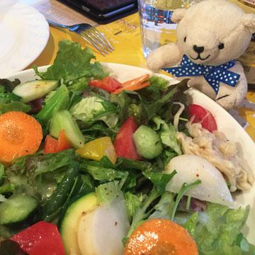 榎さんのサラダ